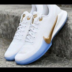 Nike mamba focus white/gold